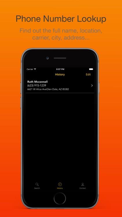Phone Number Lookup & Reverse Caller ID screenshot-4
