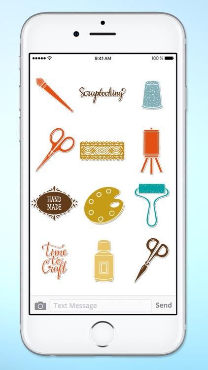 Arts and Crafts Handmade DIY Sticker Pack screenshot-3