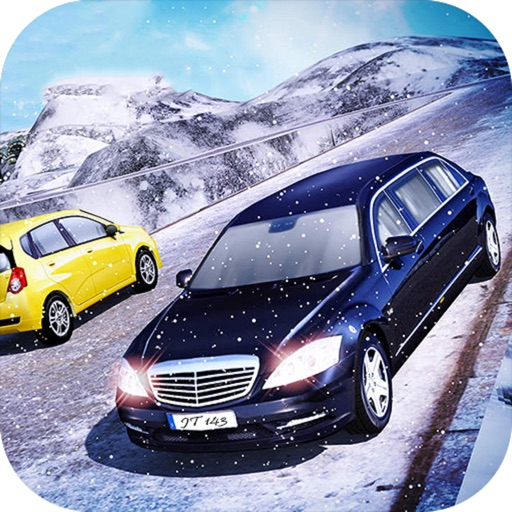 Snow Limo Parking : Crazy Driving Sim-ulator 2017