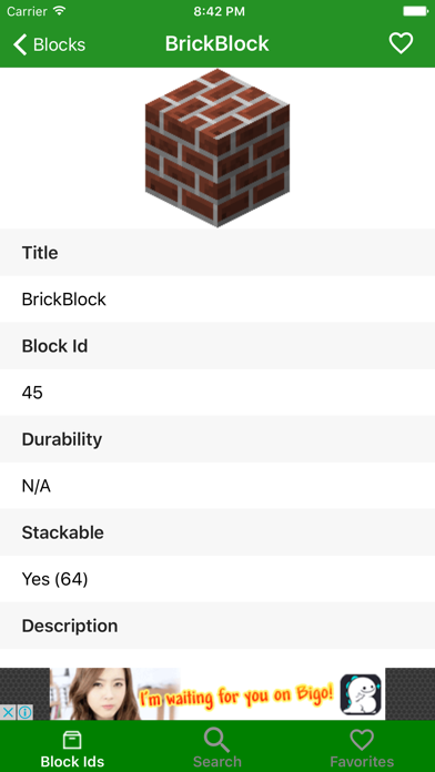 Block id for minecraft pe | App Price Drops