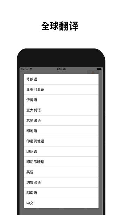 全球翻譯 ( 104 語言支持 )屏幕截圖4