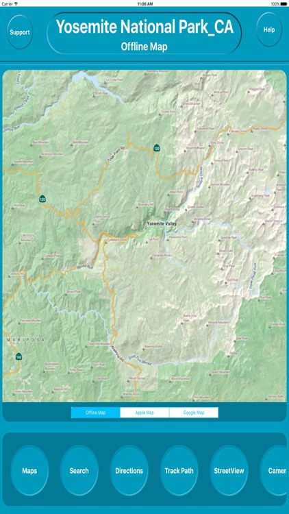 Yosemite National Park USA Offline Maps Navigation