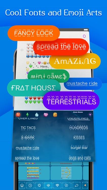 FancyKey - Emoji Keyboard Themes & Cool Fonts screenshot-3