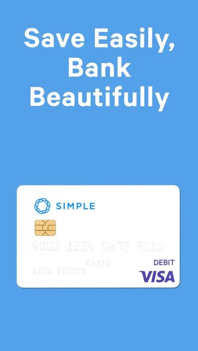 Screenshot 0 for Simple's iPhone app'