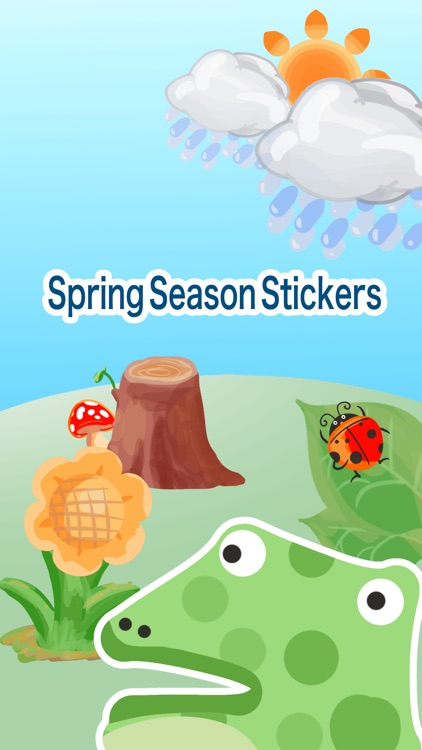 Spring Season Stickers