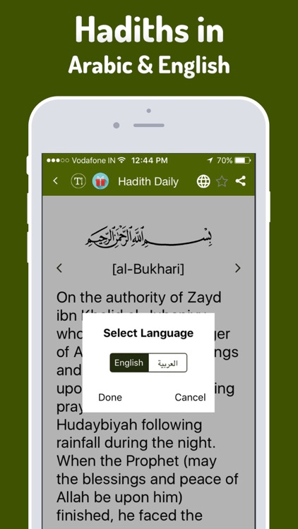 Hadith Daily Pro - Islamic App for Muslim, Islam screenshot-4