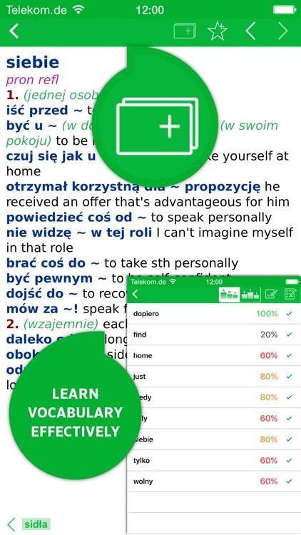 Dictionary Polish - English CONCISE by PONS screenshot-4