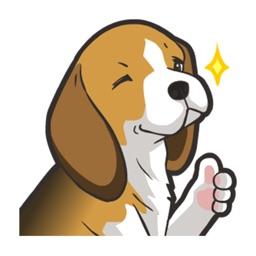 Beagle Dog - Stickers