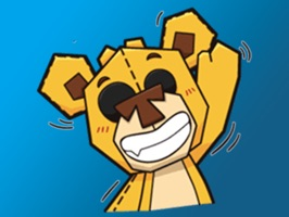 Plushy Bear Stickers