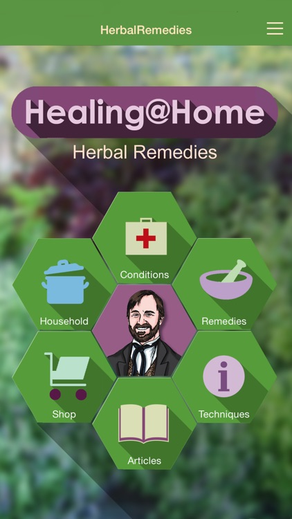 Herbal Remedies - Healing at Home screenshot-0
