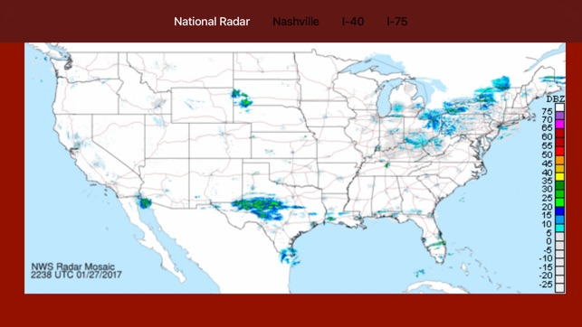 Tennessee NOAA Radar with Traffic Cameras 3D Pro on the App Store