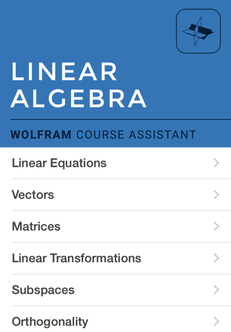 Wolfram Linear Algebra Course Assistant - náhled