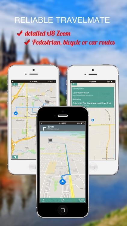 Lisbon, Portugal : Offline GPS Navigation