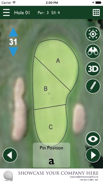 Rotherham Golf Club GPS screenshot four