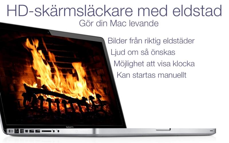 Eldstad HD: skärmsläckare på PC