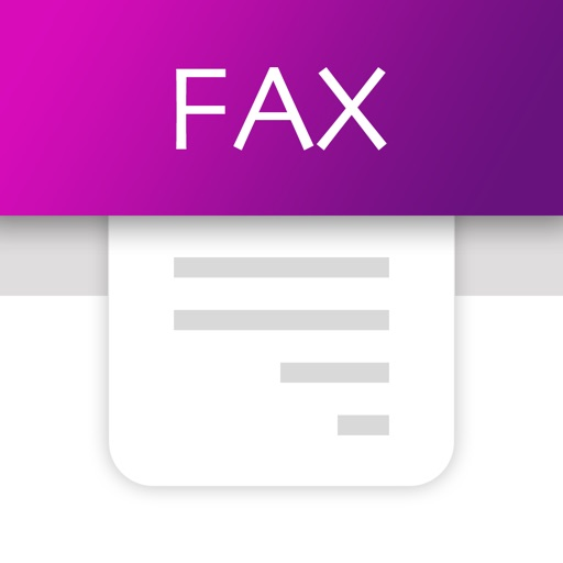 Tiny Fax - send fax from iPhone app logo