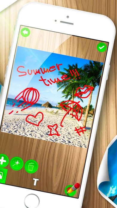 Doodle on Photo – Write Text and Draw on Pictures screenshot two