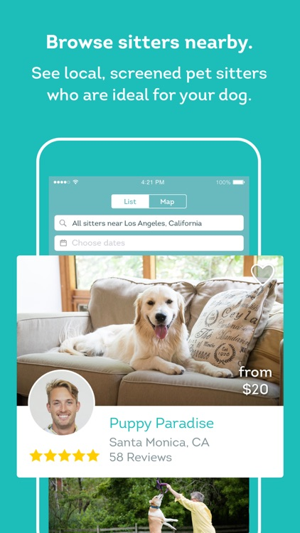 DogVacay - Pet Sitting, Dog Boarding & Daycare