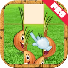 Activities of Vegetable Slide Puzzle Kids Game Pro
