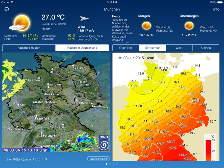 The Weather In Germany HD