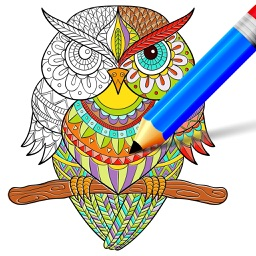 Doodle Coloring Book - Draw & Color