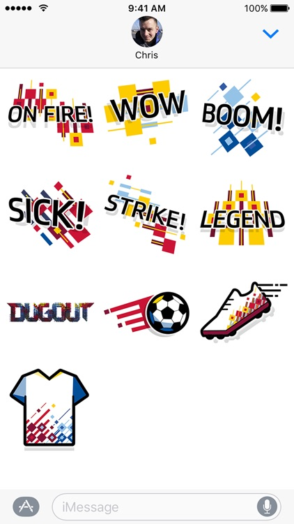 Dugout Stickers
