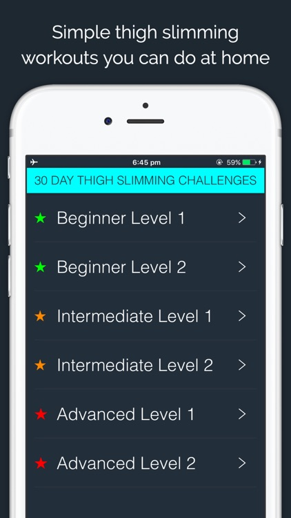 30 Day Thigh Slimmer Challenge screenshot-0