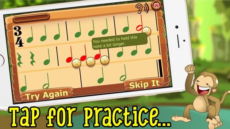 Rhythm Swing- Fun Rhythm Drills for Kids screenshot-0