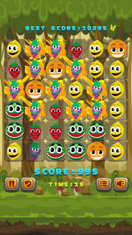 Fruit Match 3 Puzzle Games - Magic foxy splash screenshot-3