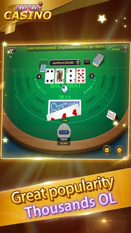 Blackjack Casino-Free card poker games screenshot-3