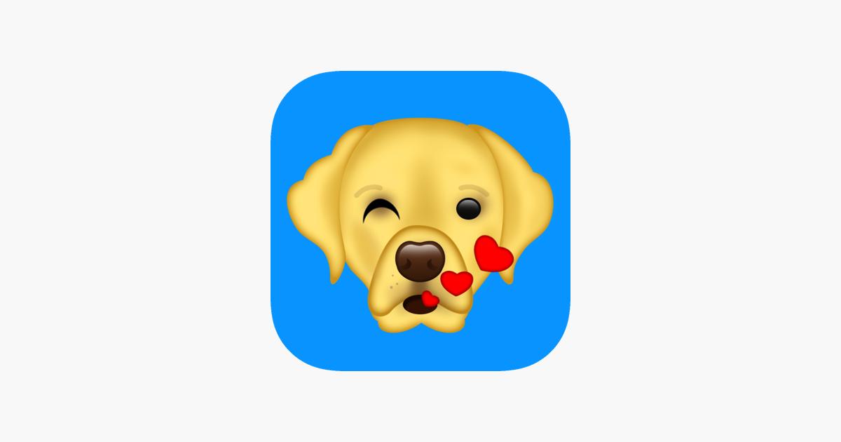 Labmoji Labrador Retriever Emoji Stickers