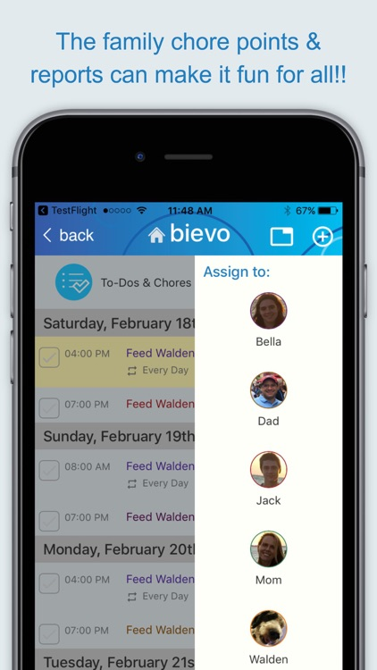 Bievo - The organizer for your entire family