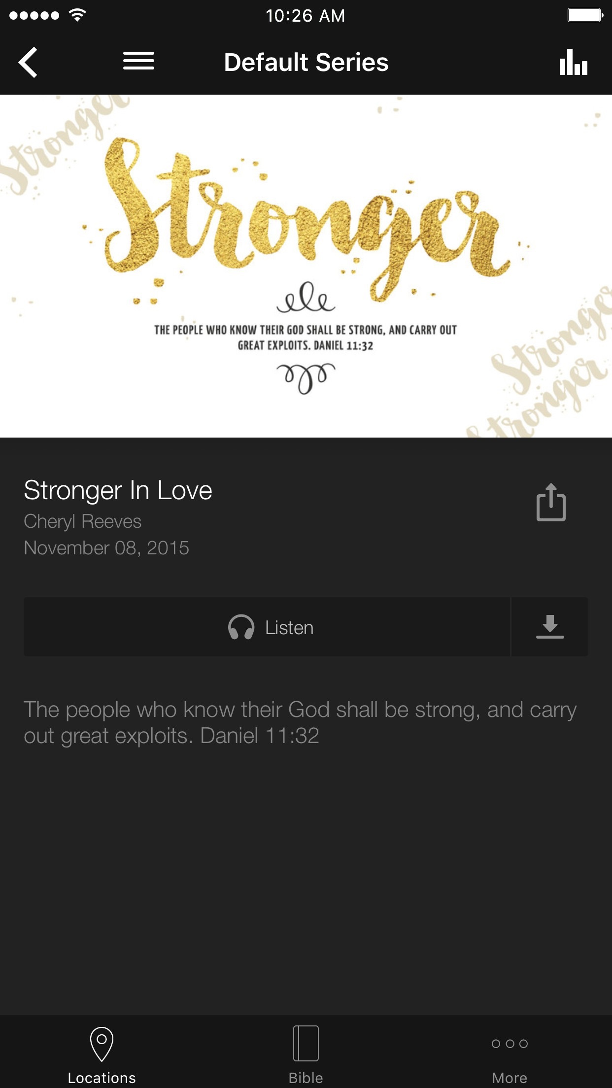Liberty Church App Screenshot