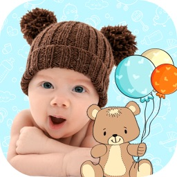 Baby Stickers for Photos – Picture Editor for Kids