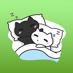 Couple Kittens Inlove Daily Life Sticker Vol 1