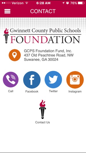 Gwinnett County Public Schools Foundation on the App Store