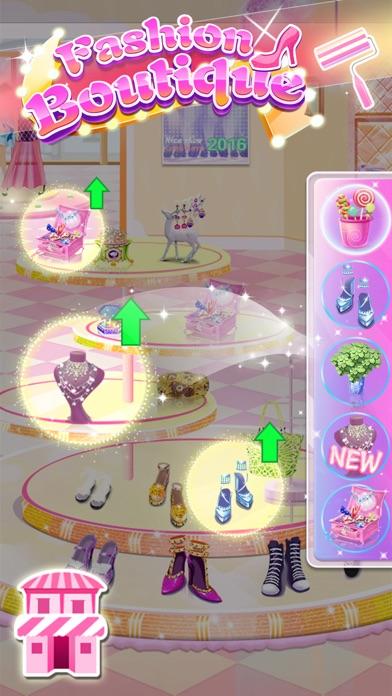 Dream Fashion Shop - Girl Dress Up screenshot four