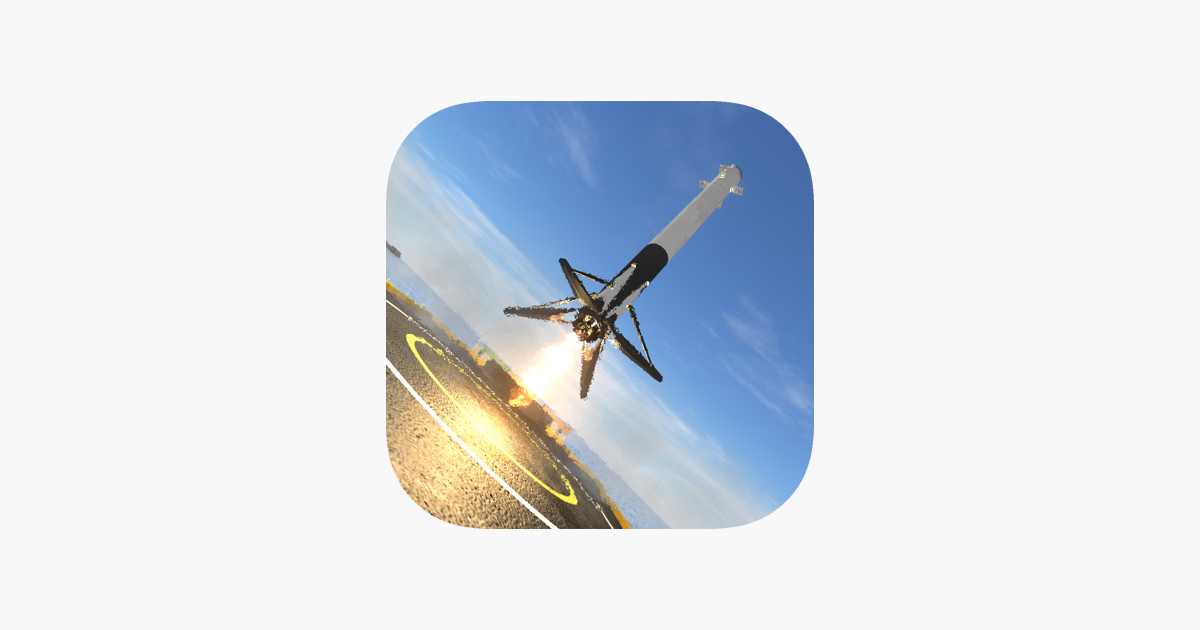 Space Rocket - First Stage Landing Simulator on the App Store