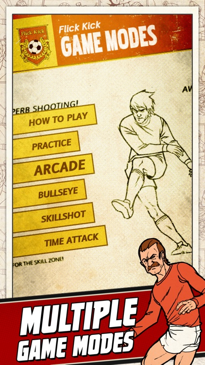 Flick Kick Football screenshot-3