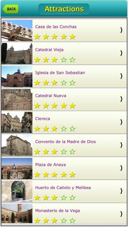 Salamanca Offline Map City Guide