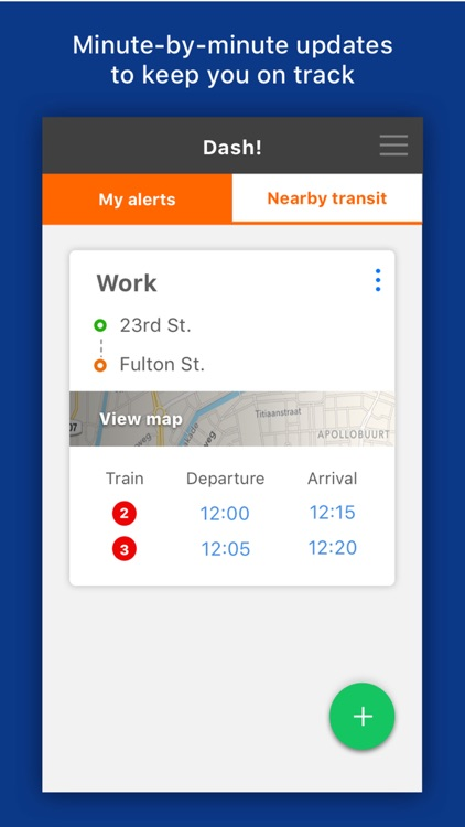 Dash! Transit: Daily Bus & Subway Transit Alerts screenshot-3