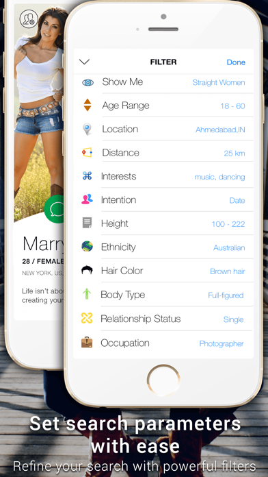 Bussy Dating App - Find a Date, Meet Singles screenshot two