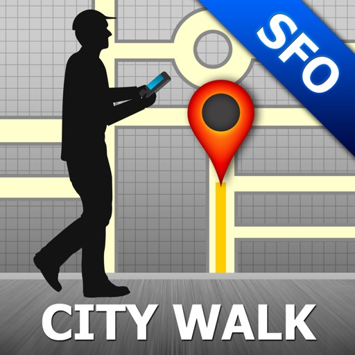 San Francisco Map and Walks, Full Version