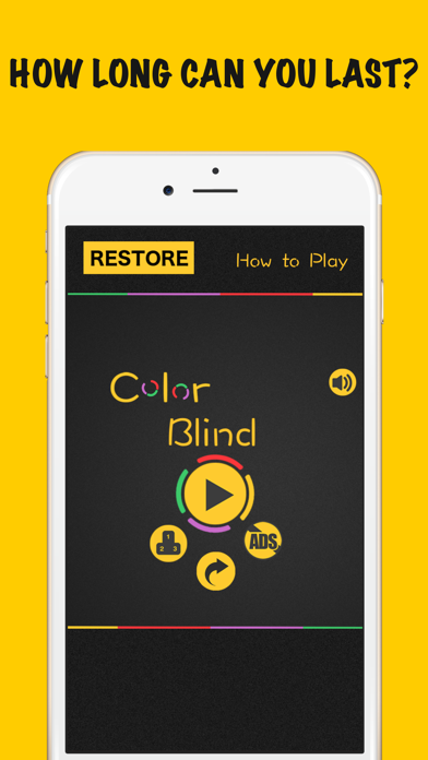 Color Blind - Impossible Bounce Game