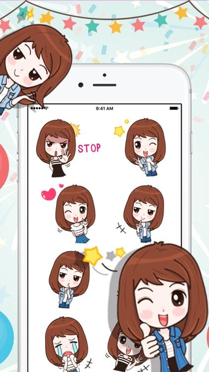 Lovely Girl Sticker Pack