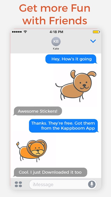Cute Animal Emotions Stickers