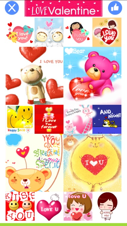 LoveValentine - Stickers for Messenger & WhatsApp screenshot-4