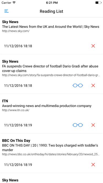 UK NEWSPAPERS and MAGAZINES screenshot four
