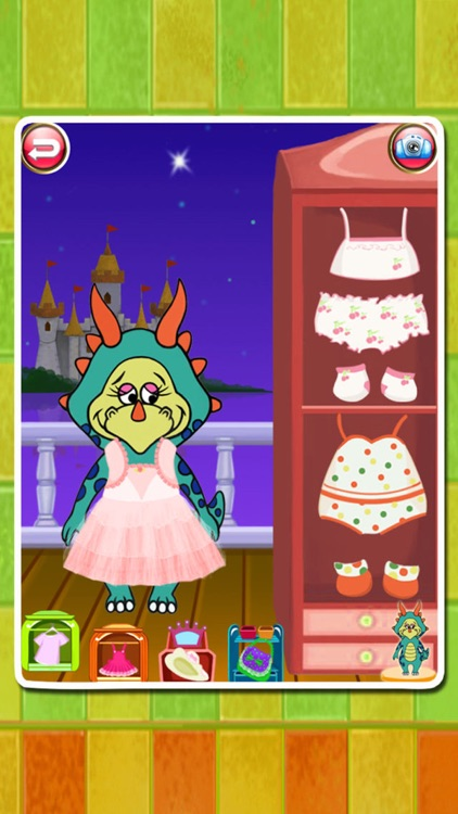 Dino Bath & Dress Up -FREE games for girls & boys screenshot-3