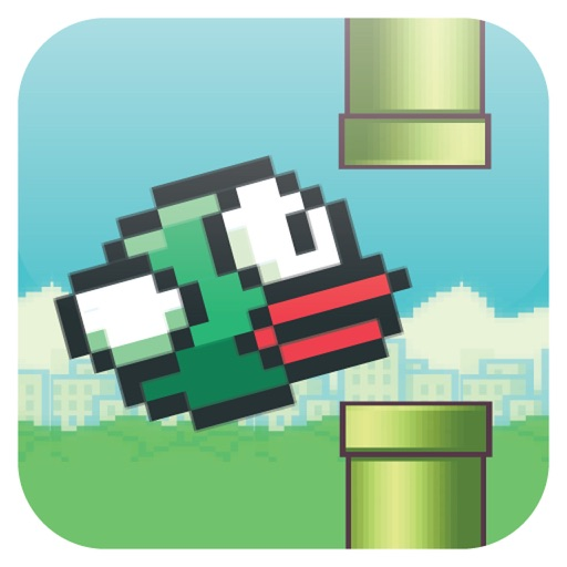 FlyBird : Fly the Bird which is floppy on fly